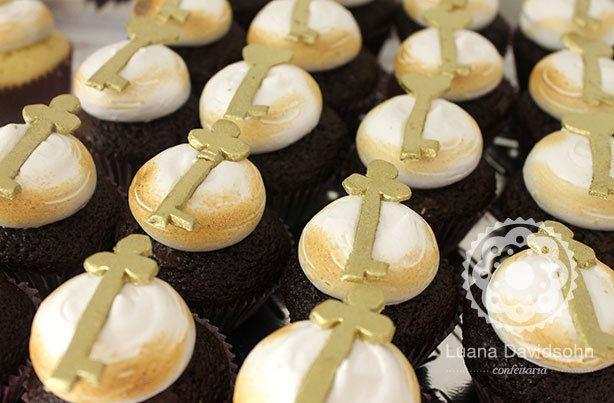 Cupcake Tiffanys Brasil   Confeitaria da Luana