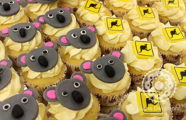 Cupcakes Australia | Confeitaria da Luana