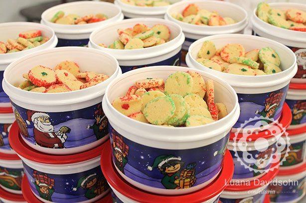 Biscoitos Amanteigados para Tupperware | Confeitaria da Luana