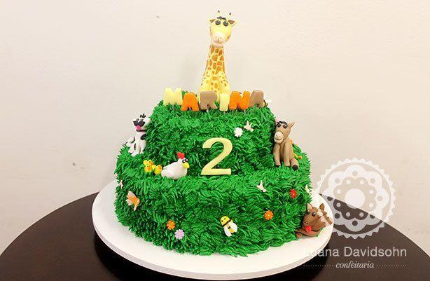 Bolo Floresta 2 anos | Confeitaria da Luana