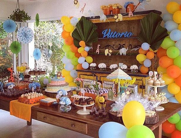 Mesa de Doces Baby Safari | Confeitaria da Luana