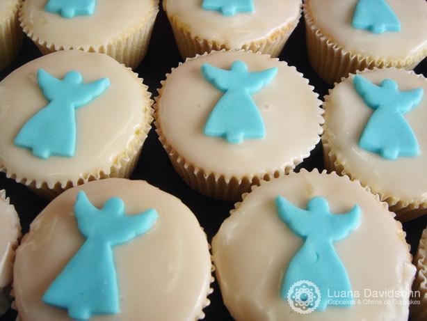 Cupcake para Batizado