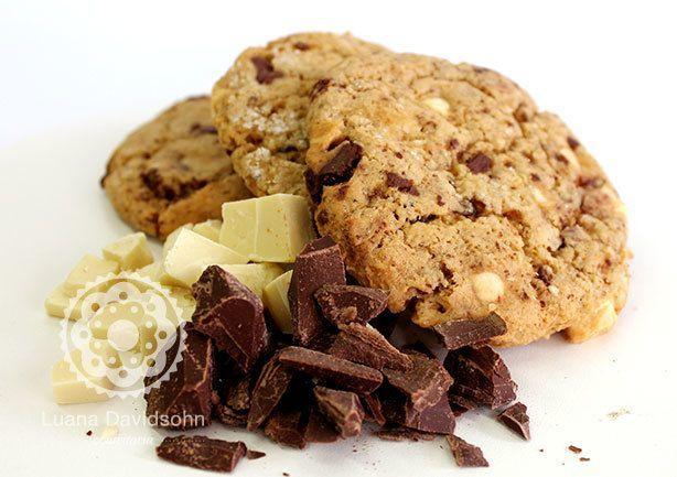 Cookies Choc Chip | Confeitaria da Luana