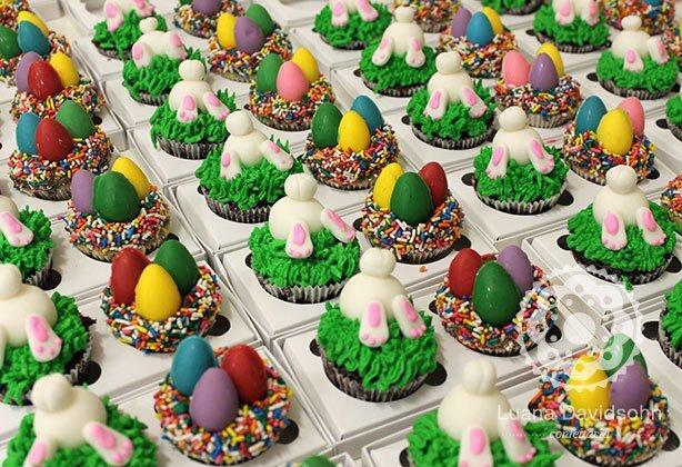 Cupcakes Páscoa Presente | Confeitaria da Luana