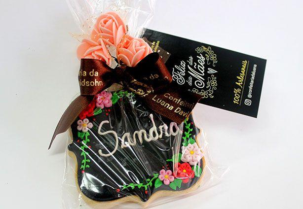 Biscoitos Dia das Mães | Confeitaria da Luana
