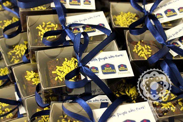 Brownies Brinde para Evento | Confeitaria da Luana