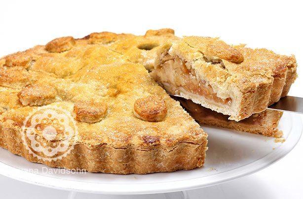 Torta de Maça | Confeitaria da Luana