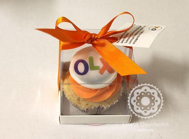 Cupcake de Presente | Confeitaria da Luana