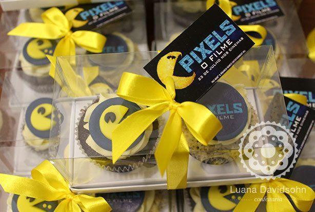 Cupcakes Pacman | Confeitaria da Luana