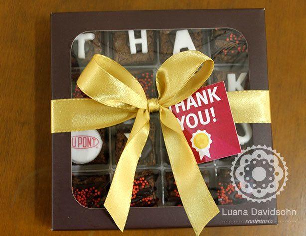 Brownies Agradecimento
