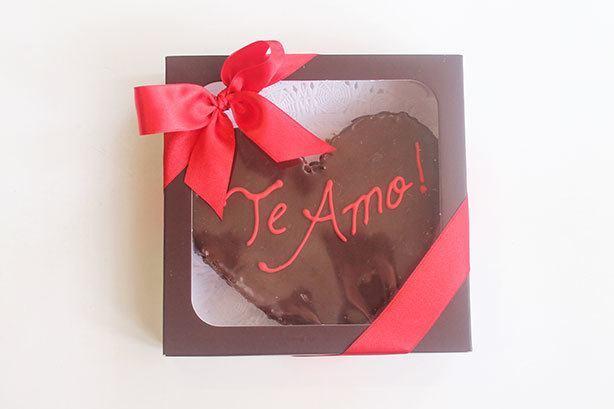 Brownie Dia dos Namorados | Confeitaria da Luana