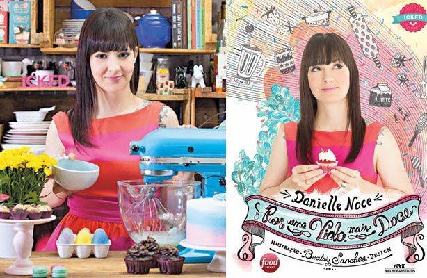 Cupcake Livro Dani Noce | Confeitaria da Luana