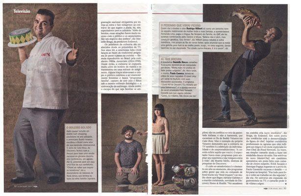 Bolo e Cupcake na Revista Veja | Confeitaria da Luana