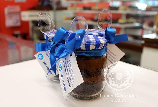 Bolo no Pote Brigadeiro | Confeitaria da Luana