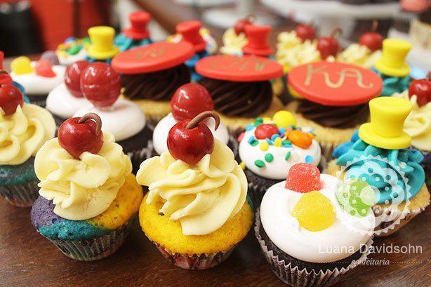 Cupcakes Fantástica Fábrica de Chocolates