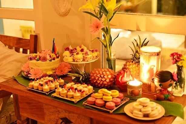 Bolo Festa Luau | Confeitaria da Luana