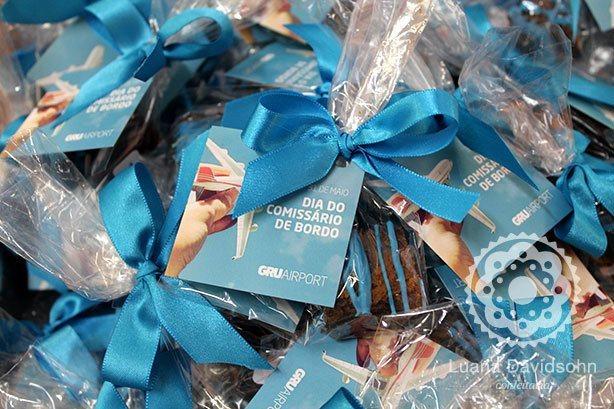 Brownie Brinde Dia do Comissário de Bordo | Confeitaria da Luana