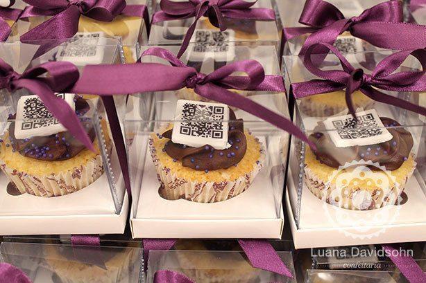 Cupcakes QR Code | Confeitaria da Luana