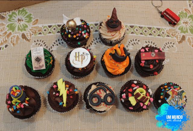 Cupcakes do Harry Potter | Confeitaria da Luana