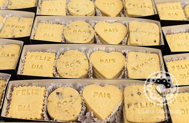Biscoito Personalizado Dia dos Pais | Confeitaria da Luana