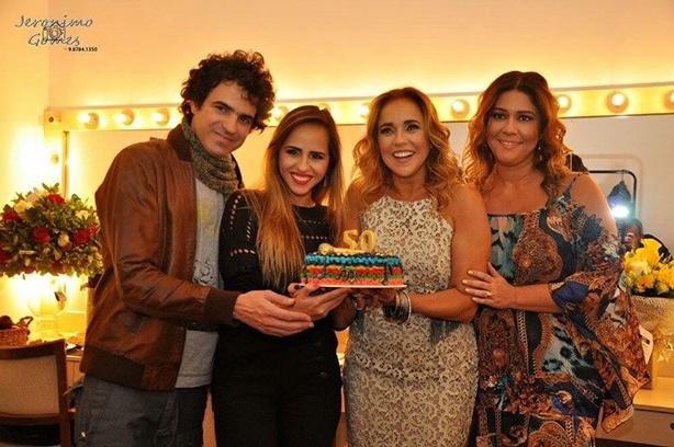 Bolo de Aniversário Daniela Mercury | Confeitaria da Luana