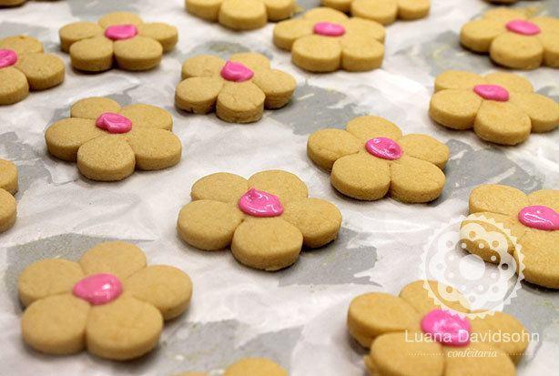 cookie de flor