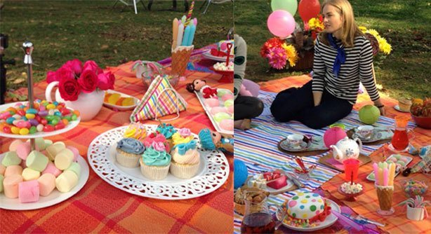 Cupcake Colorido e Bolo Angélica Lolita | Confeitaria da Luana