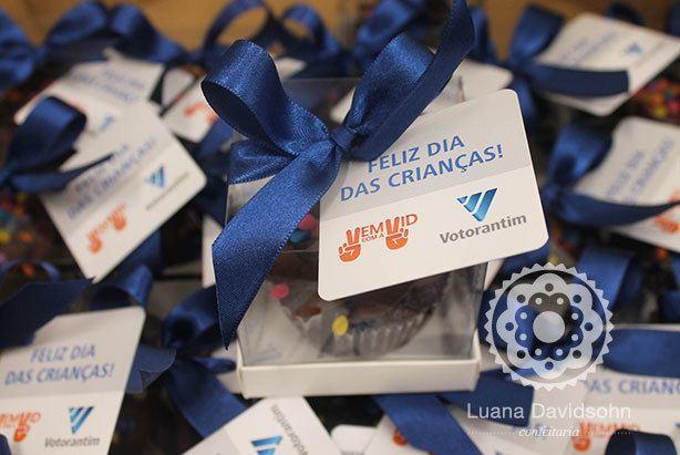 Cupcake Dia das Crianças Corporativo   Confeitaria da Luana