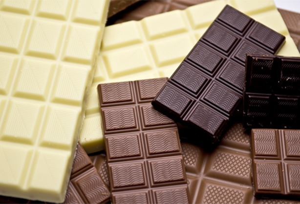 Diferença entre Chocolate Meio Amargo, ao Leite e Branco. | Confeitaria da Luana