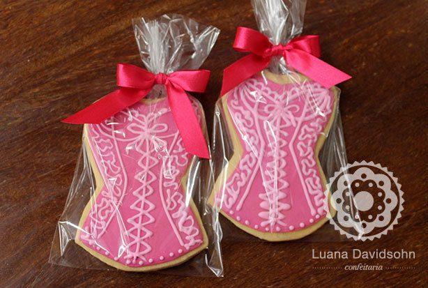 Cookie de Espartilho | Confeitaria da Luana