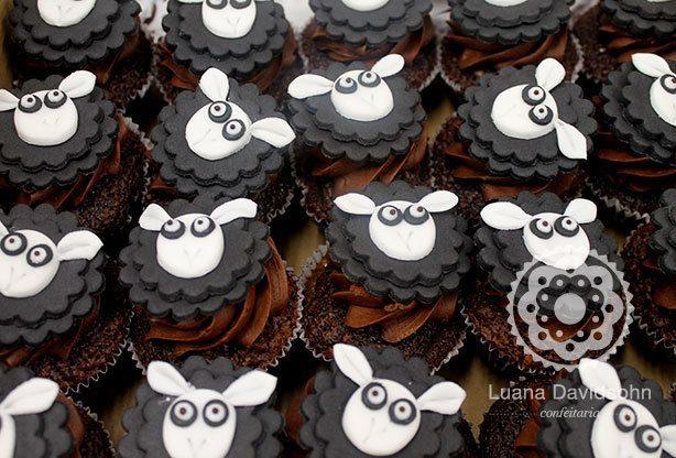 Cupcake de Ovelha | Confeitaria da Luana