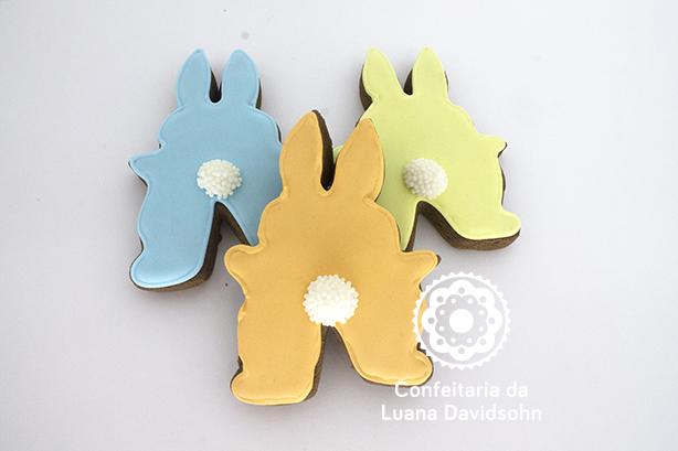 Cookie Decorado Páscoa Glacê | Confeitaria da Luana