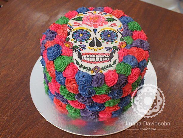Bolo Festa Mexicana | Confeitaria da Luana