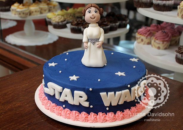 Bolo Star Wars | Confeitaria da Luana