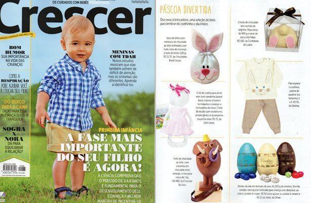 Bolo de Coelho Revista Crescer | Confeitaria da Luana