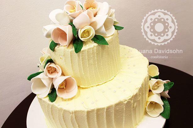 Bolo Flores Casamento