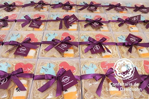 Cookies de Médico | Confeitaria da Luana