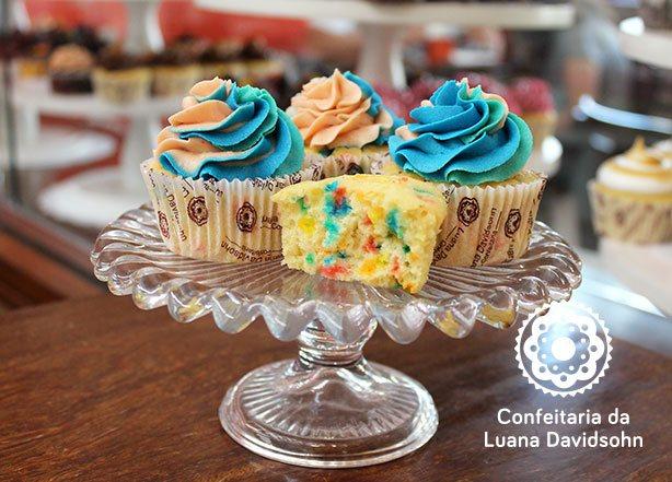 Cupcake Colorido Dia das Crianças