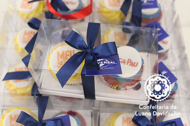 Cupcake Pré-Estréia de Filme | Confeitaria da Luana