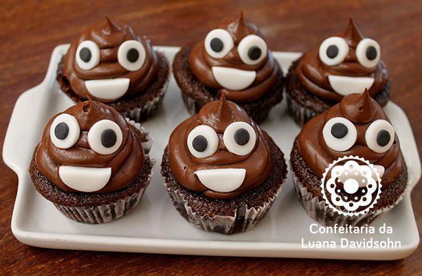 Cupcake Emoji | Confeitaria da Luana