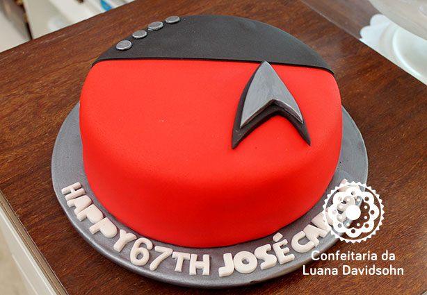 Bolo e Cupcake Star Trek | Confeitaria da Luana