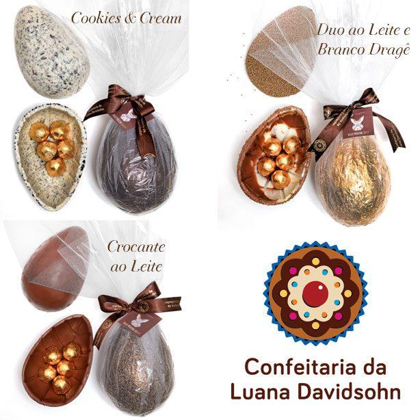 Ovos de Páscoa 2017 | Confeitaria da Luana
