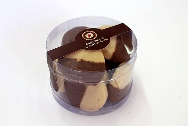 Biscoito com Chocolate | Confeitaria da Luana