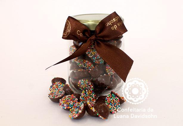 Chocolate Dragê | Confeitaria da Luana