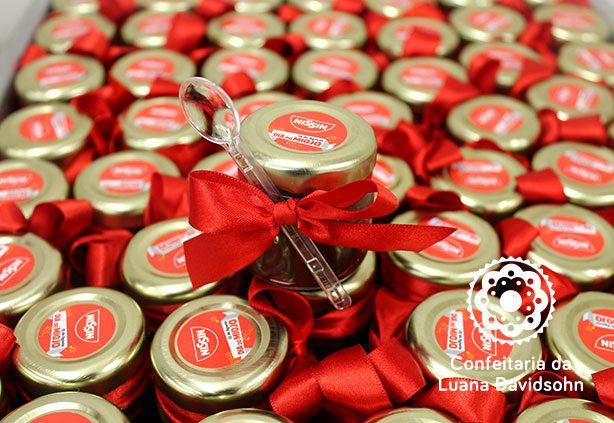 Brinde Aniversário Empresa | Confeitaria da Luana
