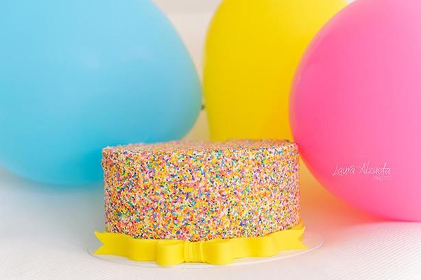 Bolo de Mentira Smash The Cake | Confeitaria da Luana