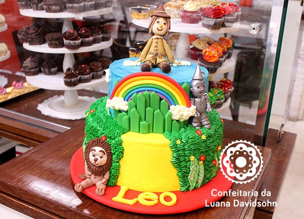 Bolo Mágico de Oz | Confeitaria da Luana
