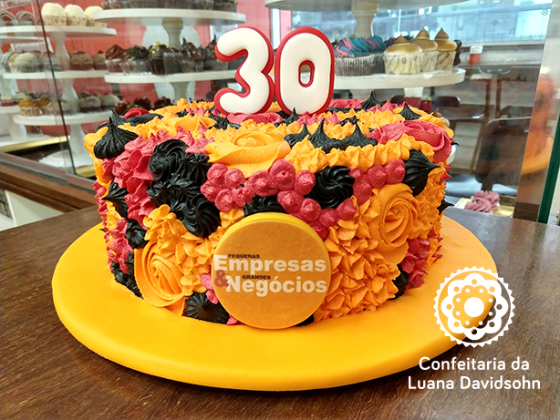 Bolo Pequenas Empresas Grandes Negócios | Confeitaria da Luana