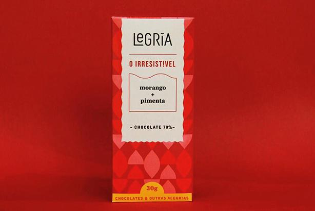 Chocolate vegano morango com pimenta   Confeitaria da Luana