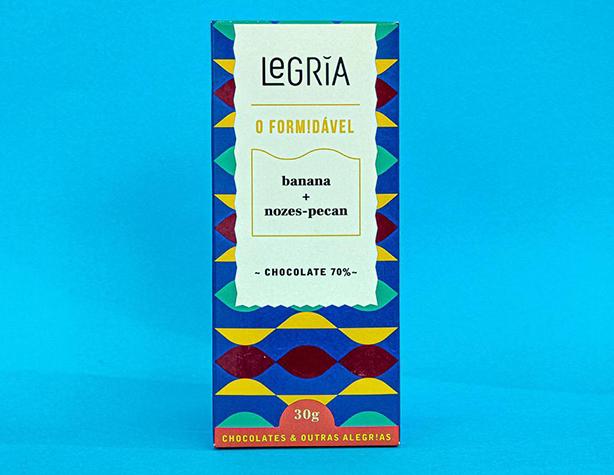 Chocolates vegano banana e nozes pecãn   Confeitaria da Luana